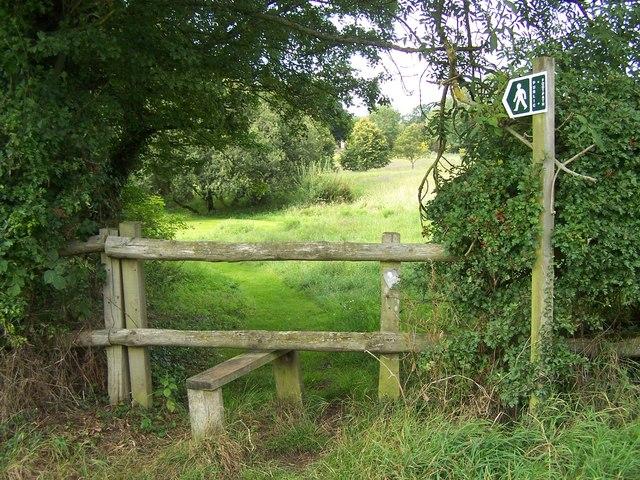 Footpath Near Ham