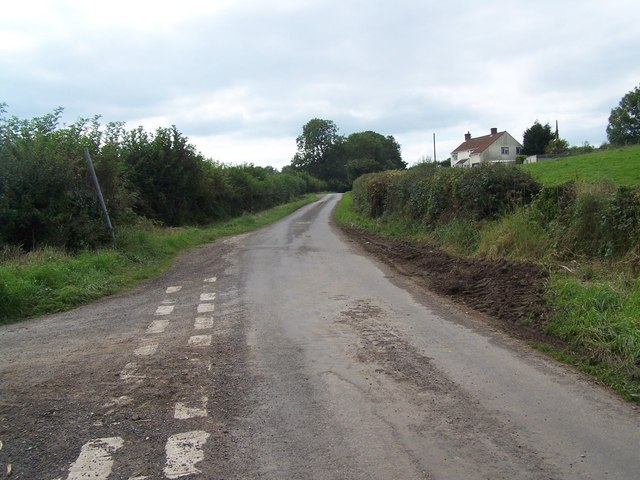 Lane Junction Near Binegar