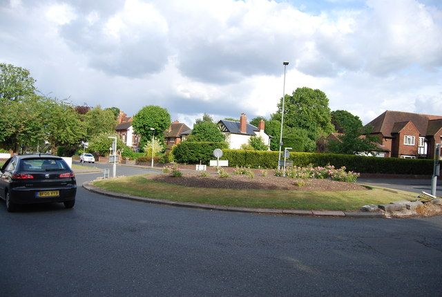 Roundabout, Metchley Lane