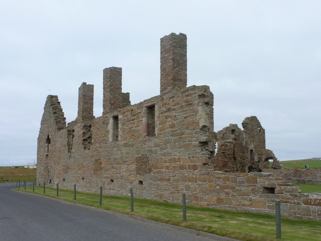 Birsay: exterior of the Earl's Palace
