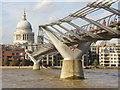 TQ3280 : London Millennium Footbridge by Colin Smith