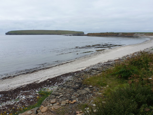 Birsay: the bay from the churchyard