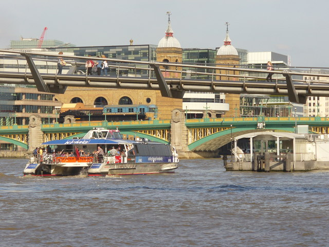 The Thames, Central London