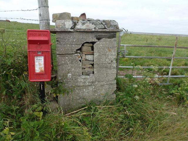 Marwick: postbox № KW17 60