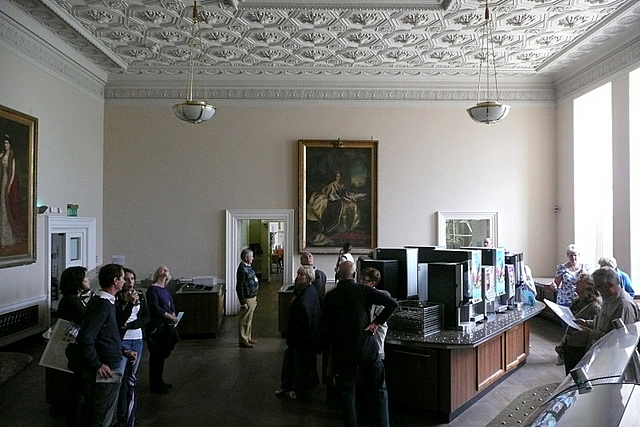 Stowe House, garter room