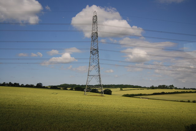 Pylons by the M11
