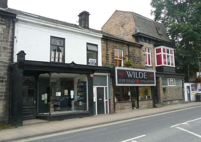 Shops, Burnley Road, Todmorden
