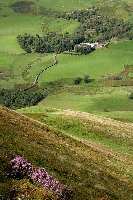 The northwest ridge of Pettylung