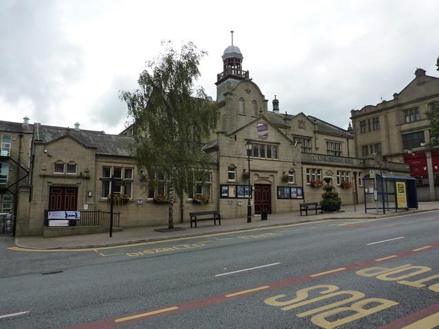 Colne Municipal Hall, Albert Road, Colne