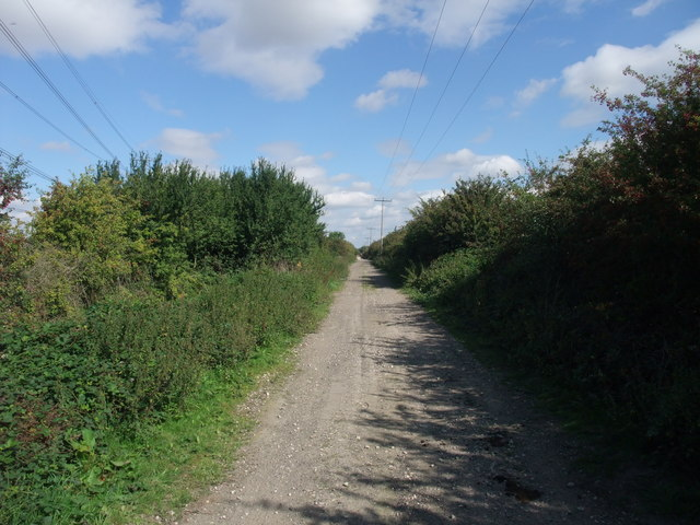 The Trent Valley Way on Green lane
