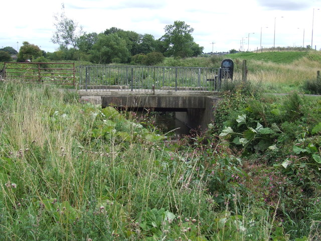 Bridge over Moors Burn, Houghton-le-Spring