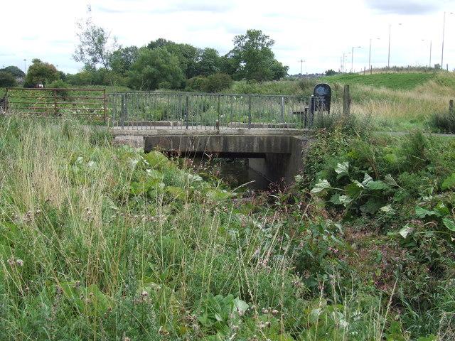 Bridge over Moors Burn, Houghton-le-Spring