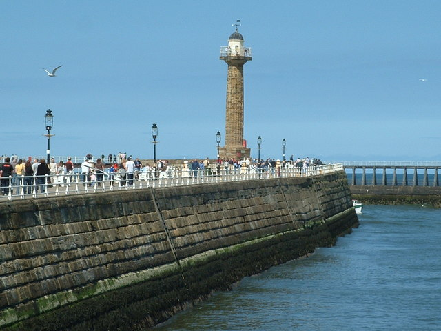 Lighthouse on West Pier, Whitby