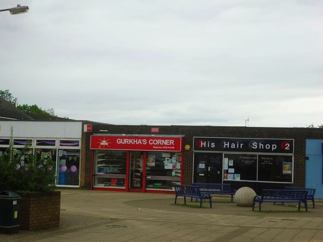 Catterick Garrison, local shops, Colburn