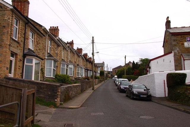 Cardell Road in Bodmin