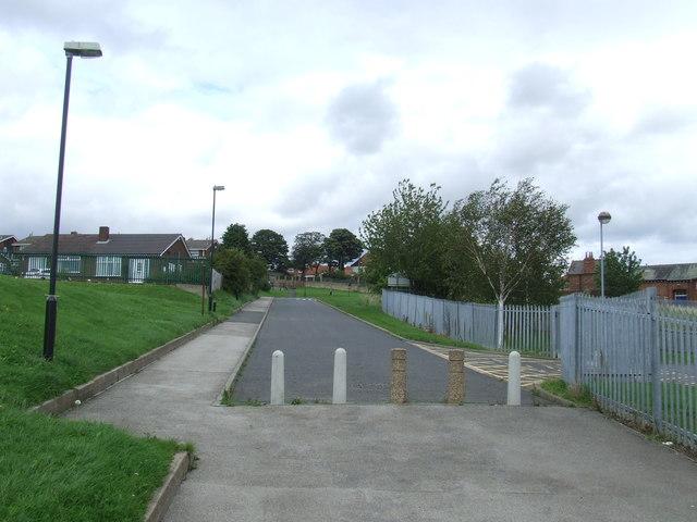 No through road, Houghton-le-Spring