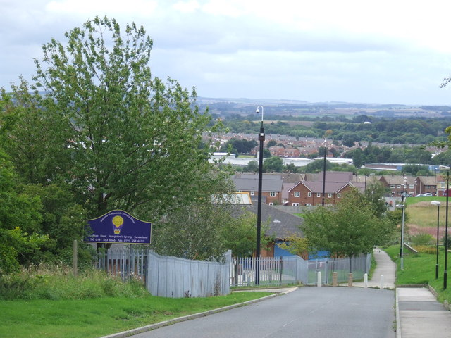 View westwards, Houghton-le-Spring