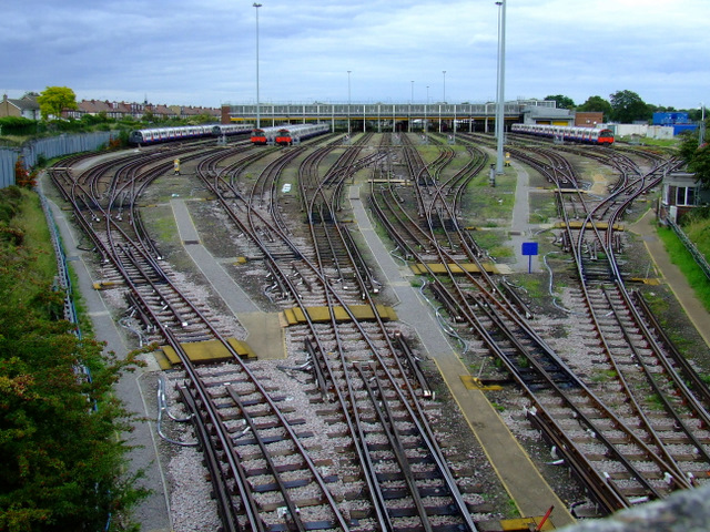 Northfields tube depot