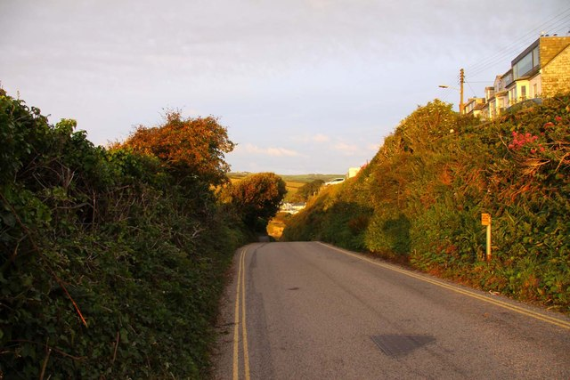 The road to Port Gaverne