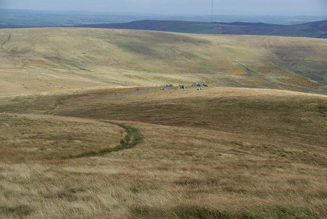 Descent to Cerrigmarchogion