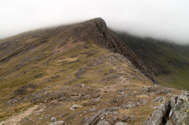 South ridge of Snowdon