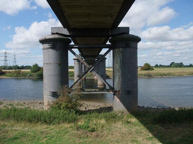 Beneath Fledborough bridge