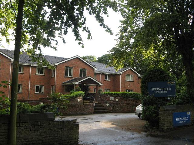 Springfield Care Home, Preston New Road