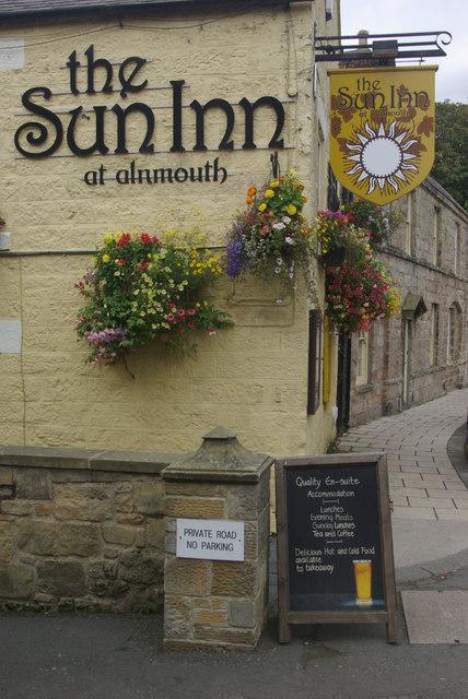 The Sun Inn, Alnmouth