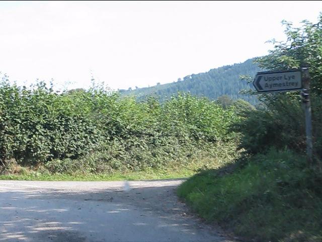 A very rural lane junction