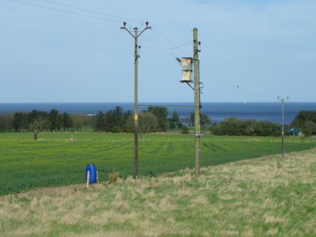 Wide headland near Alnmouth
