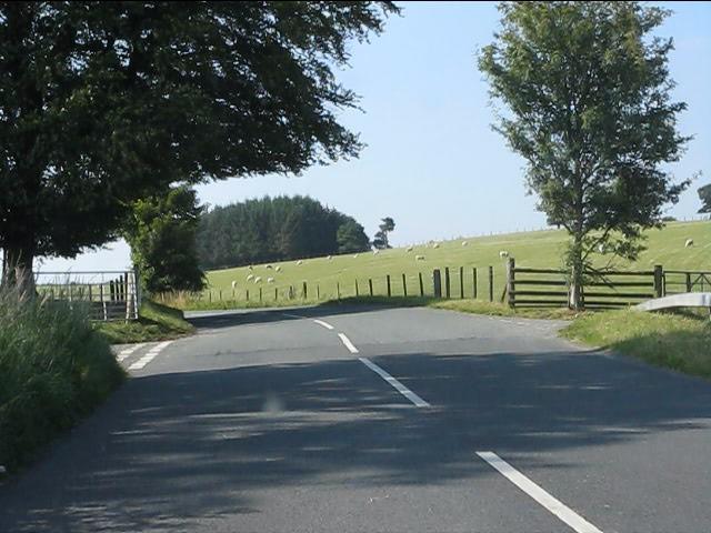 B4355 near Whitepole Plantation