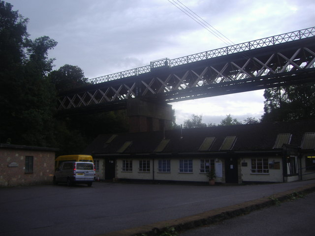 Railway bridge over the A25, Oxted