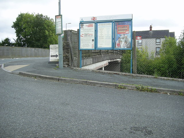 Road bridge on the A478, Clunderwen