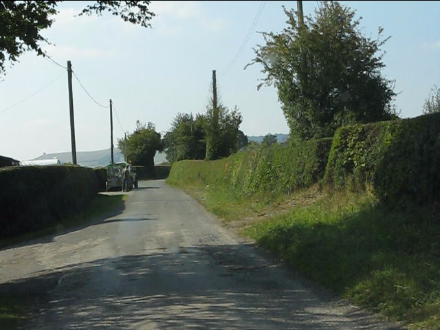 Lane at Middlemoor