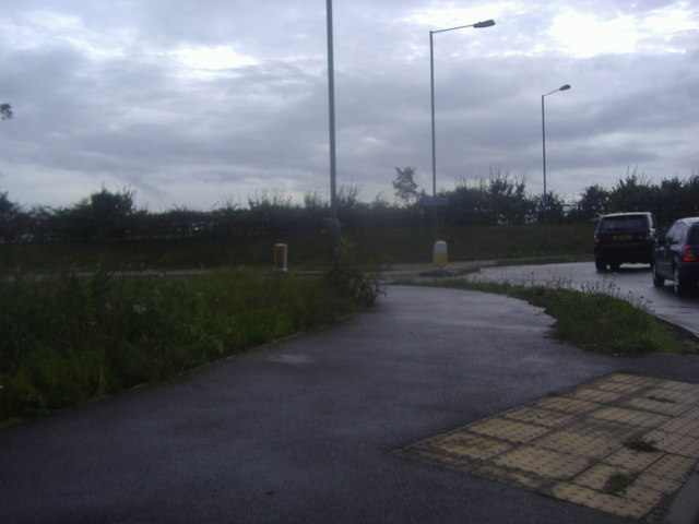 Tandridge Lane roundabout on the A25