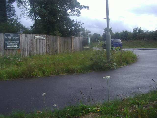 Corner of the A25 and Tandridge Lane