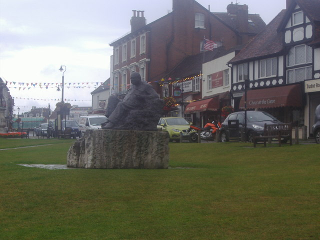 Statue of Winston Churchill, Westerham Green