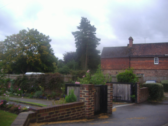 Garden and building on Rectory Lane