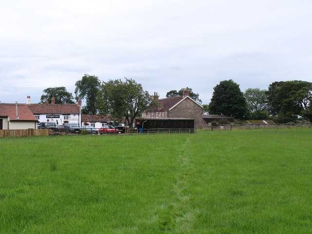 Footpath at Nosterfield