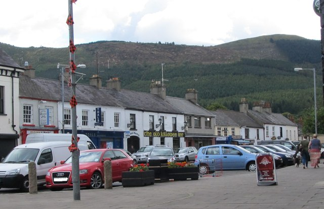 The north side of Cloughmore Road, Rostrevor