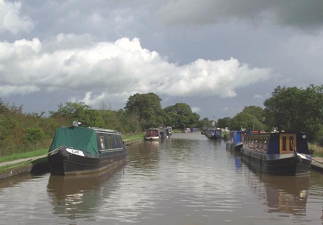 Shropshire Union Canal near Barbridge, Cheshire