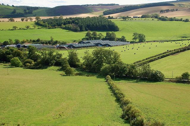 Fields around Burnhouses
