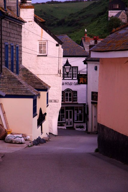 Fore Street in Port Isaac