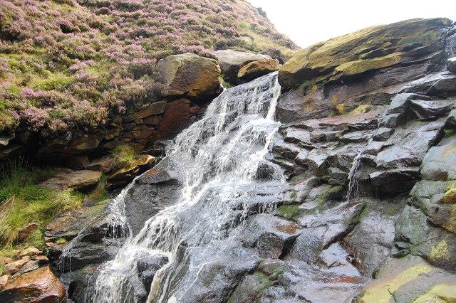 Waterfall, Birchen Clough