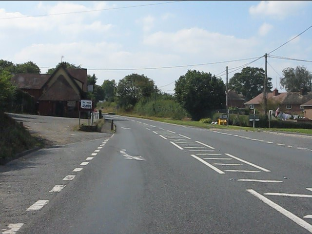 A44 at Monkland