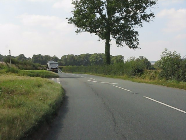A44 at the junction for Upper Hardwick