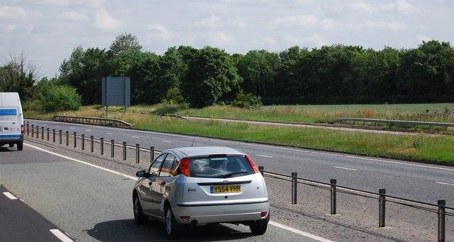A11 heading north