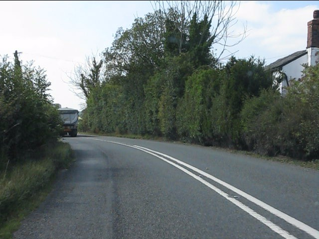 Lonely cottage on the A44