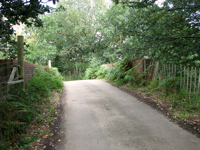 Bridge over disused railway line, Mintlyn