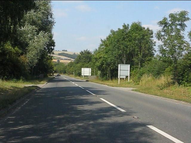 Eastern arm of the Kington bypass